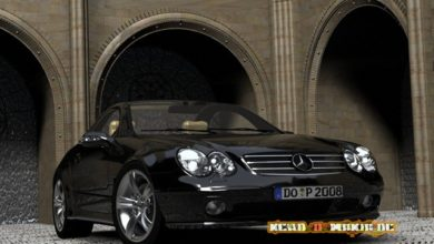 Bild von Mercedes Benz Modelle in Autodesk 3ds max