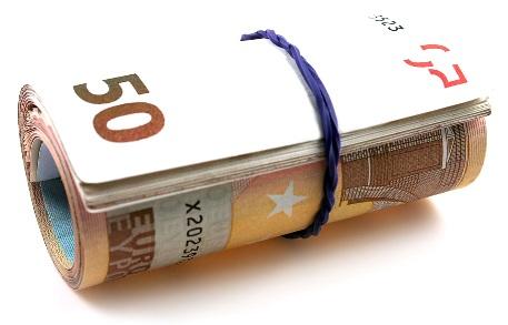 euroscheinbündel