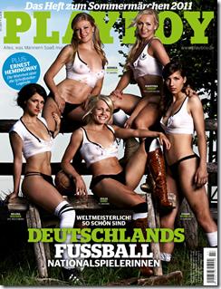 Playboy Frauen Fussball WM