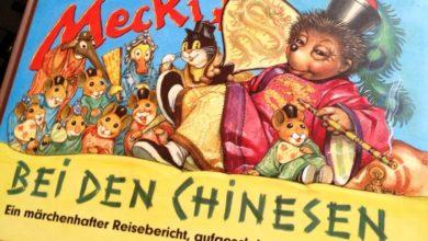 """Bild von Sonntagsgedanken:  Warum gibt es """"Mecki bei den Chinesen"""" aber """"Mecki bei den Negerlein"""" nicht?.."""