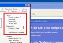Bild von Windows XP Mode unter Windows 8 kostenlos nachrüsten..