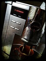 Jura Kaffe am Morgen vertreibt Kummer und Sorgen