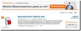 testbericht.de screenshot