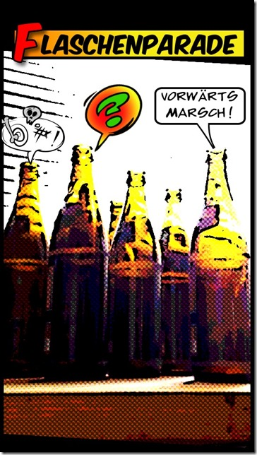 Flaschenpatade