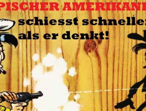 """Sonntagsgedanken: Von falschen Freunden, echten Agenten, seltsamen Waffengeschäften und """"Deutschlands Bester"""".."""
