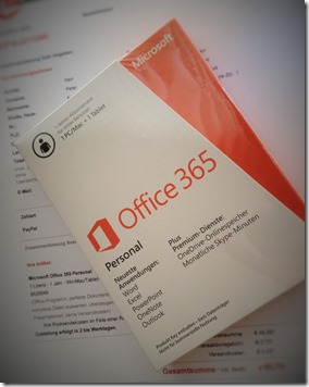 Office 365 Verpackung
