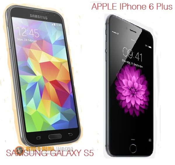 IPhone 6 Plus vs Galaxy S5