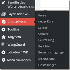 CoursePress in Deutsch