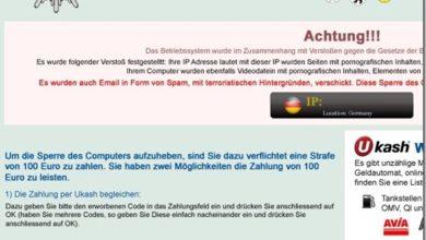 Bild von Flash Player, Windows 8 und der BKA Virus = momentan brandgefährliche Mischung – deaktivieren als Workaround..