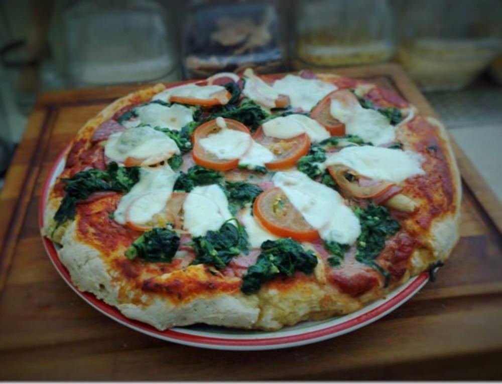 Pizzateig auf Vorrat machen und lagern–ganz einfach..