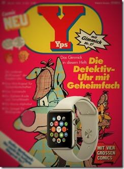 YPS-Heft mit Uhrengimmick