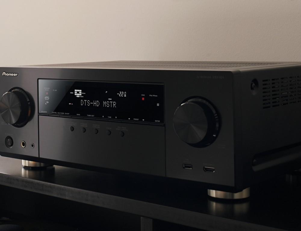 Pioneer VSX-924 AV Receiver und die Welt wird Digital..