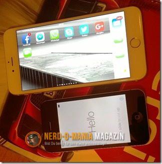 iPhone 6s Plus gegen IPhone 4s