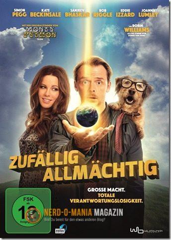 DVD Cover zufällig allmächtig