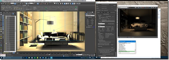 3ds max 2016 Multimonitor GUI