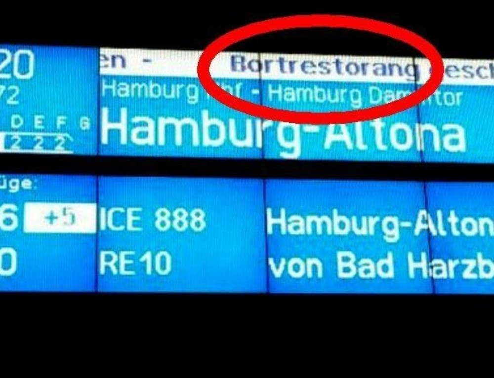Servicewüste Deutschland Part 3: wenn die Deutsche Bahn Reisende vor Schaden bewahren will – dann muss man hart im Nehmen sein…