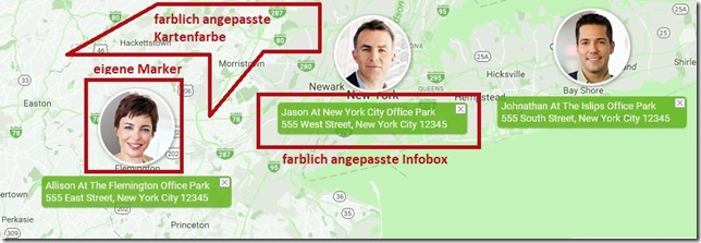 Avada google Map Template