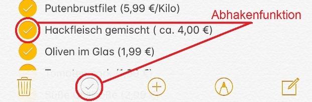 Photo of immerwährende Einkaufsliste fürs iPhone erstellen–so geht's..