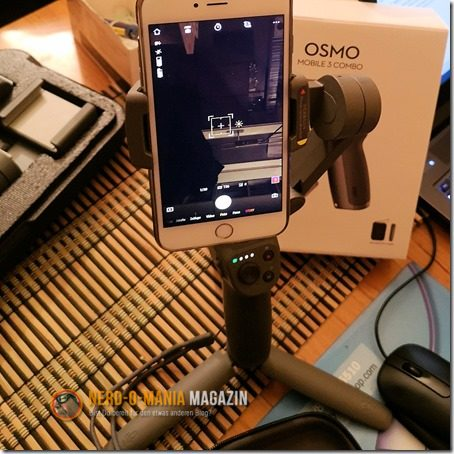 DJI OSMO Mobile 3 mit Handy