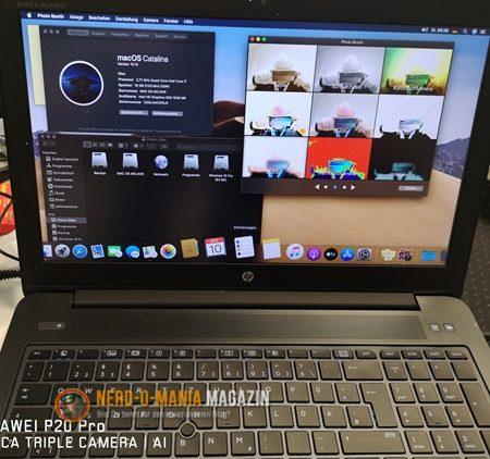 OS X 10.15 Catalina auf HP ZBook
