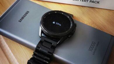 Bild von Die SAMSUNG Galaxy Watch3 im Test..
