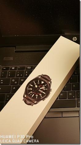 Verpackung SAMSUNG Watch3