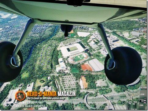 Flight Simulator 2020 - Überflug über das Dortmunder Signal-Iduna-Park Stadion.