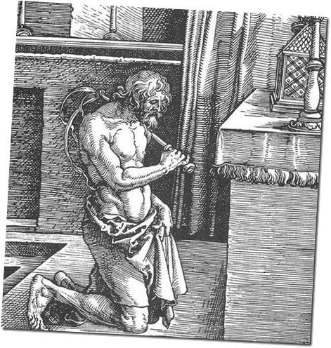Albrecht Dürer - der Büßer-small