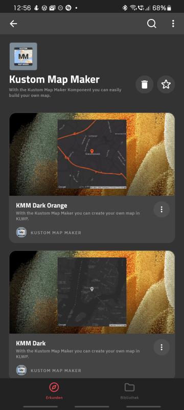 Google Maps in KLWP Themes einbinden