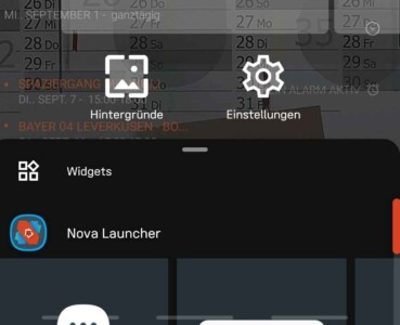NOVA 7 Launcher Widgets