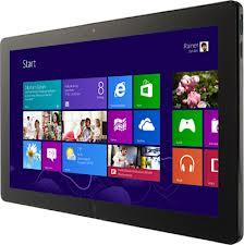 Windows 8 auf Tablet